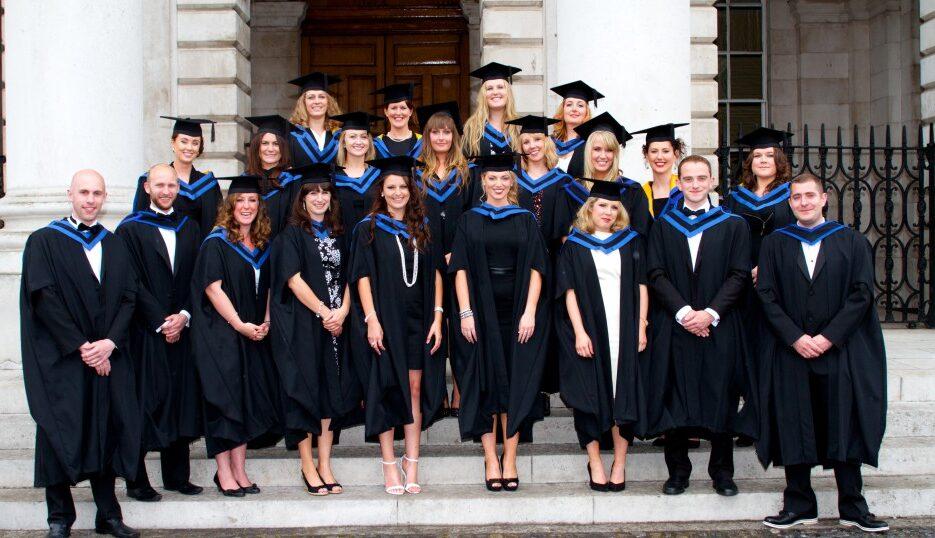 Master in Social Work Class 2013 - Trinity College Dublin